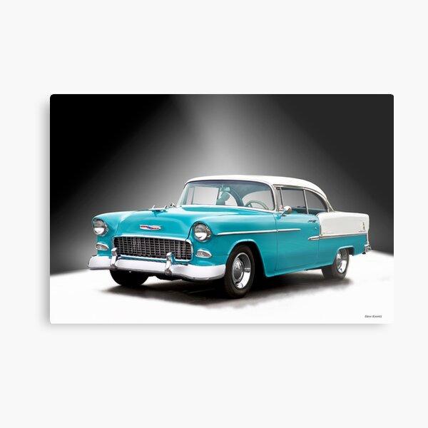 1955 Chevrolet Bel Air Hardtop Metal Print