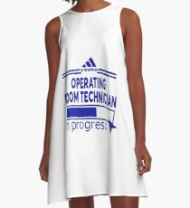 OPERATING ROOM TECHNICIAN A-Line Dress