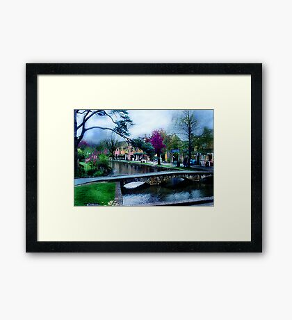 Bourton on the Water 3 Framed Print