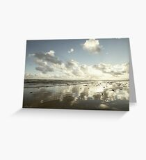 Earth delights to feel your bare feet Greeting Card