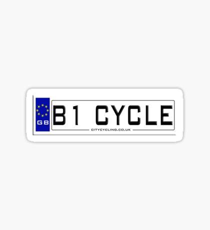 B1CYCLE Sticker