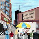 Big City Street Vendor by Weshon  Hornsby