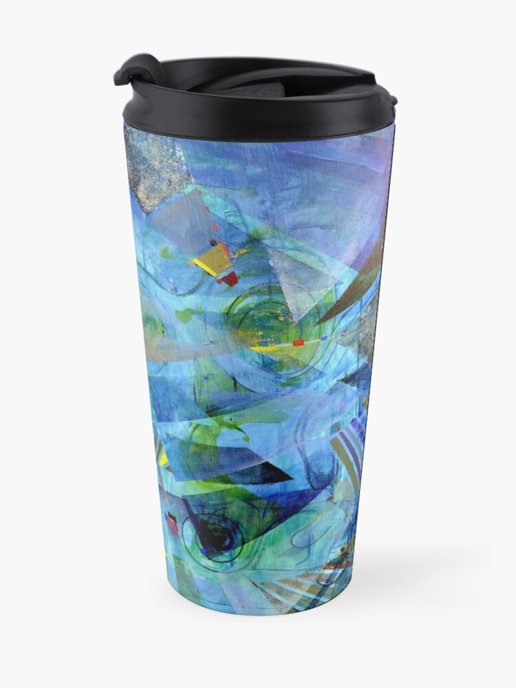 Alternate view of Excursions of Vision Travel Mug