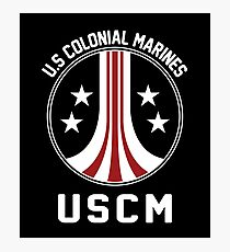 United States Colonial Marines - USCM Stratosphere Photographic Print