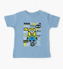 Minion Famous Quotes Baby Tee