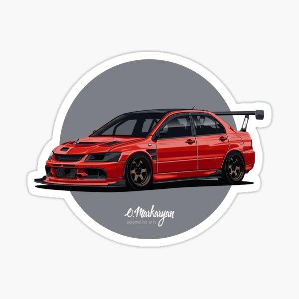 Built Not Bought Decal Sticker jdm trd evo usdm wrx rally euro drift muscle VW