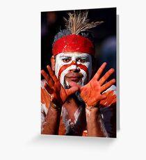 Aborigine Greeting Card
