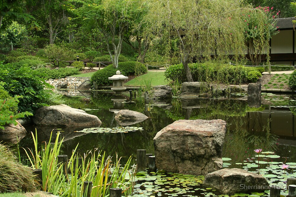Japanese Gardens by Sherrianne Talon