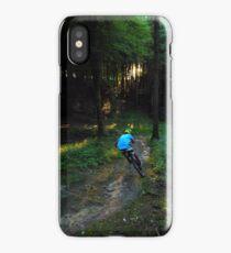 Catch the last light iPhone Case/Skin