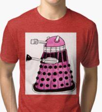 Pink Darlek Tri-blend T-Shirt