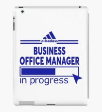 BUSINESS OFFICE MANAGER iPad Case/Skin