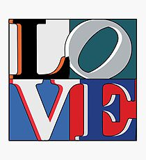 Philly Love Sports Photographic Print