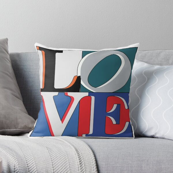 Philly Love Sports Throw Pillow