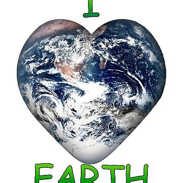 I Heart Earth by Gravityx9