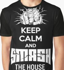 Smash The House Graphic T-Shirt