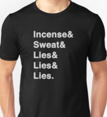 Nine Inch Nails. Stale incense, old sweat... Unisex T-Shirt