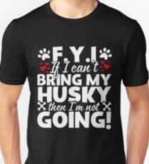 Bring My Husky T-Shirt