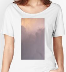 Purple Clouds Sunrise Sky Women's Relaxed Fit T-Shirt