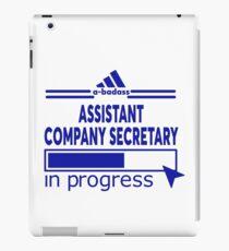 ASSISTANT COMPANY SECRETARY iPad Case/Skin