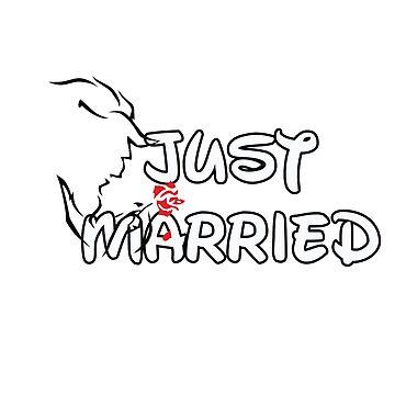 Just Married Beast by DarkAeris