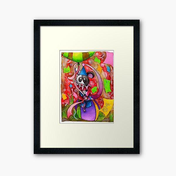 Little Big Top Mouse Framed Art Print