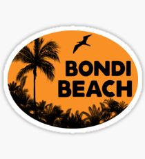 BONDI BEACH AUSTRALIA NEW SOUTH WALES SYDNEY OCEAN VACATION Sticker