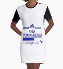 CHIEF OPERATING ENGINEER Graphic T-Shirt Dress