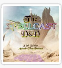 The SpellCast D&D Cover Art Sticker