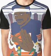 Sweetness Says No -- Packer Fans Stiff-Armed From Heaven Graphic T-Shirt