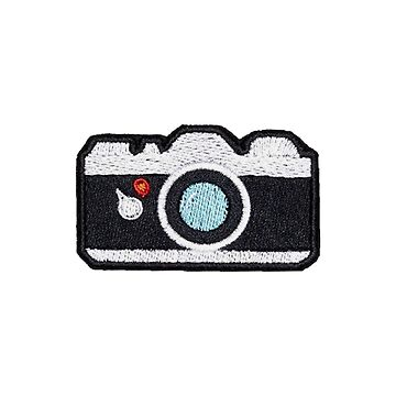 Camera Iron on Patch by livpaigedesigns