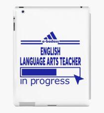 ENGLISH LANGUAGE ARTS TEACHER iPad Case/Skin