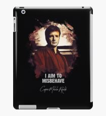 Captain Malcolm Reynolds - FIREFLY iPad Case/Skin