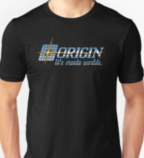 Origin Systems logo Unisex T-Shirt