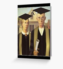 American Graduate Greeting Card