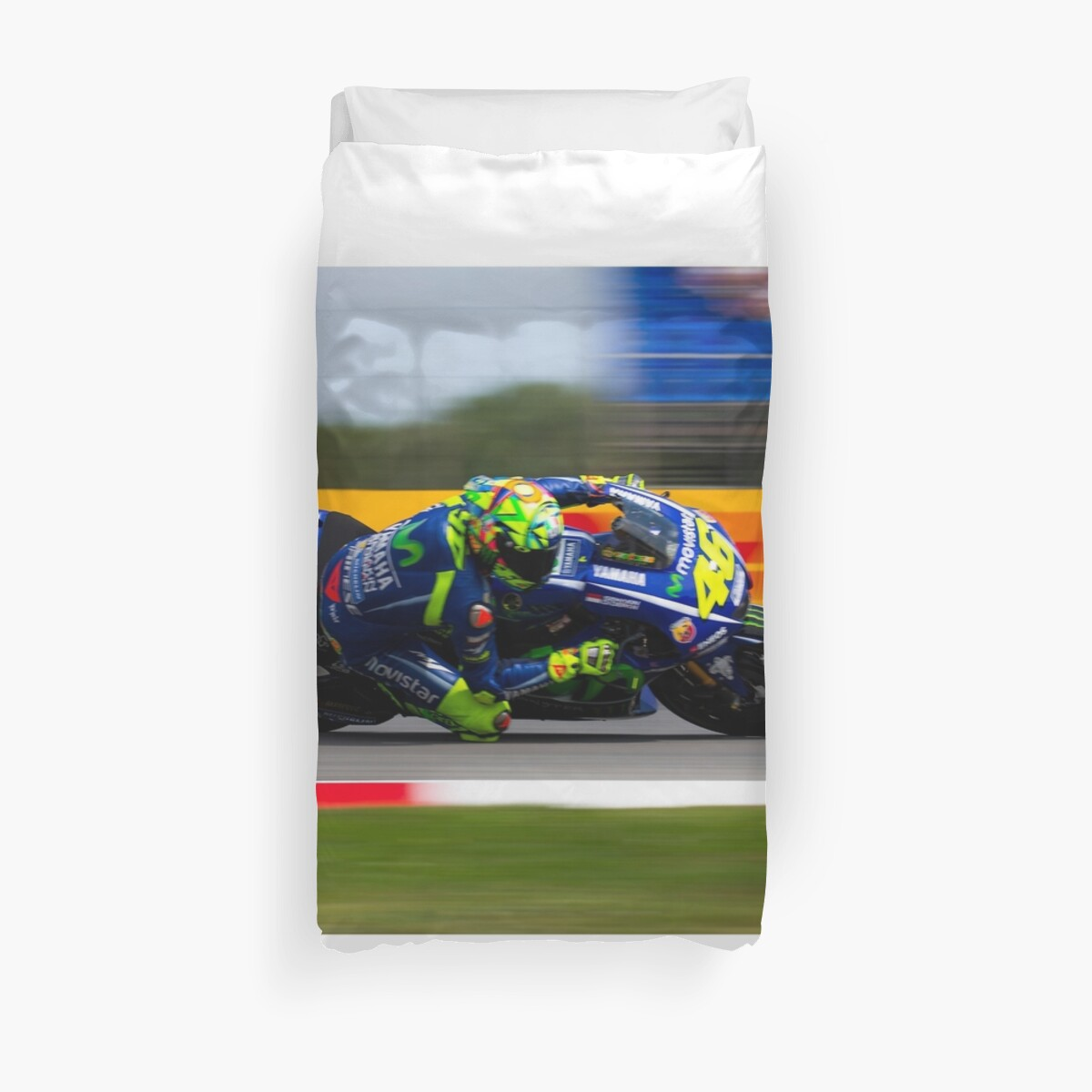 Quot Valentino Rossi Quot Duvet Covers By Srdjan Petrovic Redbubble