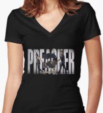 PREACHER - CASSIDY'S CART Women's Fitted V-Neck T-Shirt
