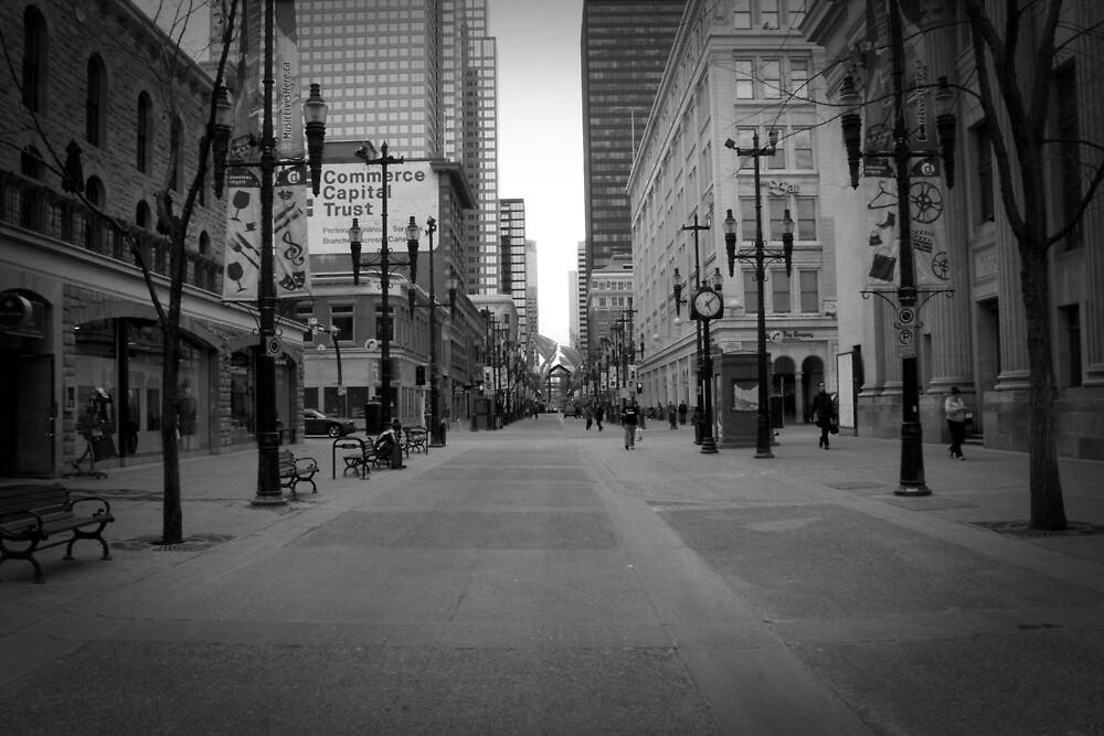 8th Ave Calgary by Kim McRae