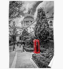 London - St pauls Poster