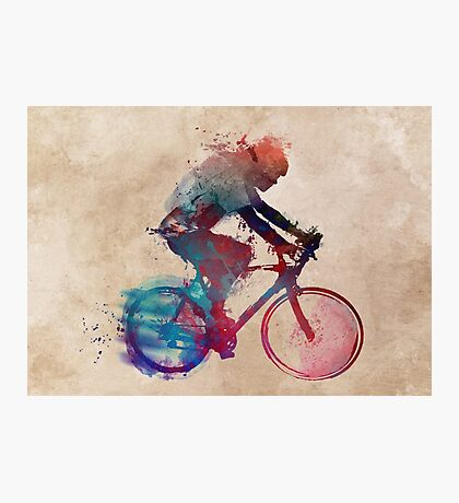 cyclist 1 #sport #cyclist Photographic Print