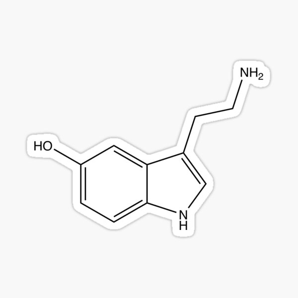 Serotonin - Line Sticker