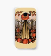 Pumpkin People Samsung Galaxy Case/Skin