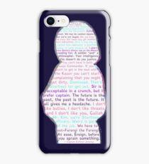 Kathryn Janeway Silhouette iPhone Case/Skin