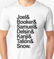 Troy Baker's characters T-Shirt