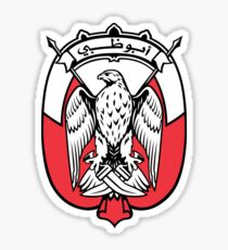 Coat of Arms of the Emirate of Abu Dhabi Sticker