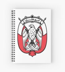 Coat of Arms of the Emirate of Abu Dhabi Spiral Notebook