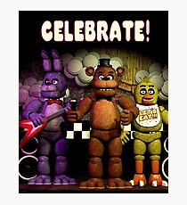 [highest quality] [Cheapest] CELEBRATE! POSTER Photographic Print