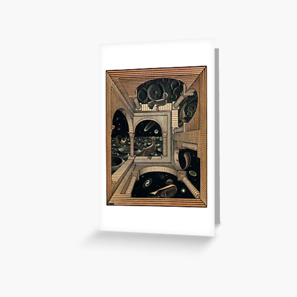 MC ESCHER LABIRINTH Greeting Card