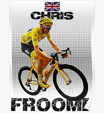 Chris Froome tshirt Poster