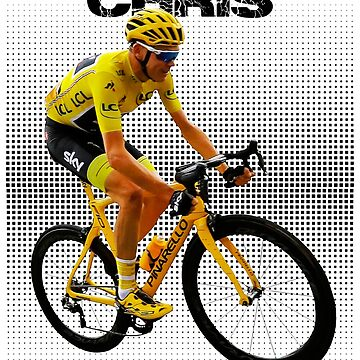 Chris Froome Tee Shirts by Mari54
