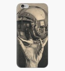 ESCHER REFLECTED BALL iPhone Case